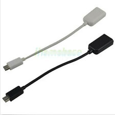 Micro USB Male To USB 2.0 Female OTG Adapter Cable For Samsung Galaxy S4 Popular