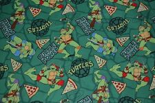 FAT QUARTERS OF TEENAGE MUTANT NINJA TURTLES 2 DESIGNS  & DR SEUSS
