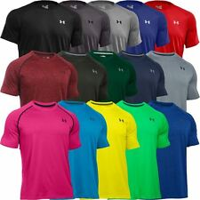 Under Armour 2016 Herren HeatGear Tech Kurzarm Training T-Shirt NEU