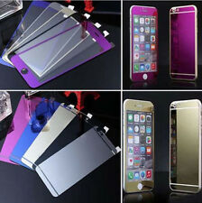 Electroplated Privacy Tempered Glass Back Screen Protector for iPhone 6s Plus