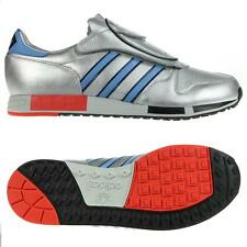 adidas ORIGINALS MICROPACER TRAINERS SILVER SIZES 8.5 9.5 11 SNEAKERS SHOES