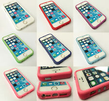 Bumper Case for Apple iPhone 5 / 5S / 5C / SE Hard Plastic Rubber Rim