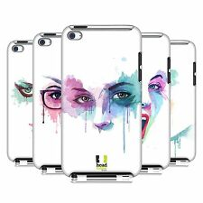 HEAD CASE DESIGNS FACES IN WATERCOLOUR CASE FOR APPLE iPOD TOUCH 4G 4TH GEN