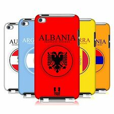 HEAD CASE DESIGNS FLAG PATCHES SET 1 CASE FOR APPLE iPOD TOUCH 4G 4TH GEN