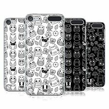 HEAD CASE DESIGNS DOODLE OWL CASE COVER FOR APPLE iPOD TOUCH 5G 5TH GEN