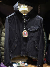 PARAJUMPERS (ITALY) NORFOLK MEN'S SPRING LIGHT JACKET, 100% GENUINE, BLUE BLACK