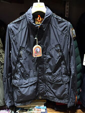 PARAJUMPERS (ITALY) PRESIDENT MEN'S LIGHT SPRING JACKET, 100% GENUINE, INK BLUE