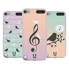 HEAD CASE BIRDS OF MUSIC SILICONE GEL CASE FOR APPLE iPOD TOUCH 5G 5TH GEN