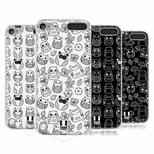 HEAD CASE DOODLE OWLS SILICONE GEL CASE FOR APPLE iPOD TOUCH 5G 5TH GEN