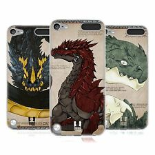HEAD CASE DRAGONS SILICONE GEL CASE FOR APPLE iPOD TOUCH 5G 5TH GEN
