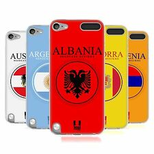 HEAD CASE FLAG PATCHES SET 1 SILICONE GEL CASE FOR APPLE iPOD TOUCH 5G 5TH GEN