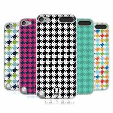 HEAD CASE HOUNDSTOOTH PATTERNS SILICONE GEL CASE FOR APPLE iPOD TOUCH 5G 5TH GEN
