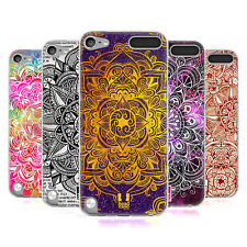 HEAD CASE MANDALA DOODLES SILICONE GEL CASE FOR APPLE iPOD TOUCH 5G 5TH GEN