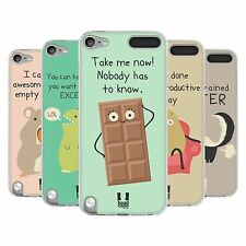 HEAD CASE DOSES OF NONSENSE SILICONE GEL CASE FOR APPLE iPOD TOUCH 5G 5TH GEN