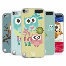 HEAD CASE KAWAII OWL SILICONE GEL CASE FOR APPLE iPOD TOUCH 5G 5TH GEN