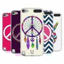 HEAD CASE PEACE EMBLEMS SILICONE GEL CASE FOR APPLE iPOD TOUCH 5G 5TH GEN