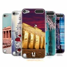 HEAD CASE BEST OF PLACES SET 1 SILICONE GEL CASE FOR APPLE iPOD TOUCH 5G 5TH GEN