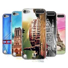 HEAD CASE BEST OF PLACES SET 3 SILICONE GEL CASE FOR APPLE iPOD TOUCH 5G 5TH GEN