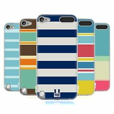HEAD CASE STRIPES COLLECTION 1 SILICONE GEL CASE FOR APPLE iPOD TOUCH 5G 5TH GEN