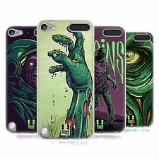 HEAD CASE ZOMBIES SILICONE GEL CASE FOR APPLE iPOD TOUCH 5G 5TH GEN