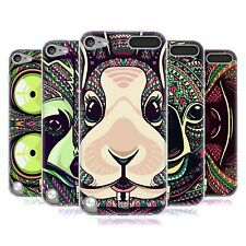 HEAD CASE AZTEC ANIMAL FACES SERIES 5 GEL CASE FOR APPLE iPOD TOUCH 5G 5TH GEN