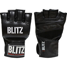 BLACK PRO CLUB MMA GLOVES GUANTINI GUANTI MIXED MARTIAL ARTS GUANTONI BOXE PUNCH