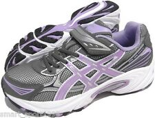 SCARPE ASICS PRE GALAXY 5 PS RUNNING JOGGING bambina junior grigio