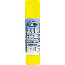 Pk of 3/Pk of 9 Glue Stick, 9g,personal,office,school,general/factory usecpg 859