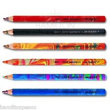 KOH-I-NOOR 3405 MAGIC COLOURED PENCILS - Jumbo pencils with multicoloured lead