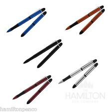 FISHER TEC TOUCH SPACE PEN - anodized aluminium dual stylus space pen