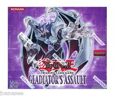 Yu-gi-oh Gladiators Assault Commons GLAS Single/Playset Take Your Pick New