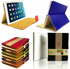 Luxury Magnetic Stand Case Leather Cover Flip Book for All Apple iPad
