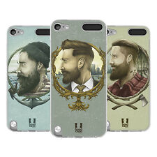 HEAD CASE MANLY HIPSTERS SILICONE GEL CASE FOR APPLE iPOD TOUCH 5G 5TH GEN