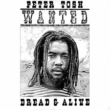 """""""WANTED DREAD OR ALIVE"""" ..PETER TOSH...Retro Album Cover Poster Various Sizes"""
