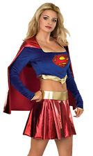SUPERGIRL Superhero Adult Womens Hero Sexy Hen Party Fancy Dress Costume 888441