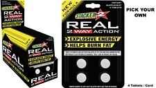 Stacker2  REAL 2 WAY ACTION Fat Burner 2 Weight Loss Caps (Pick Your Own) Fresh