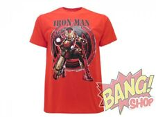T-SHIRT IRON MAN AVENGERS  MAGLIETTA ORIGINALE MARVEL