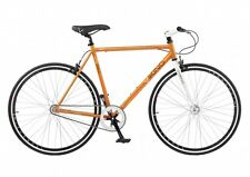 Viking Rio Singlespeed Fixie Orange Fixie Fixed Gear Stadt Fahrrad