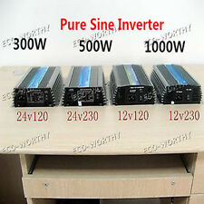 1000W 500W 300W Pure Sine Inverter for Home Solar Panel System W/ MPPT Function