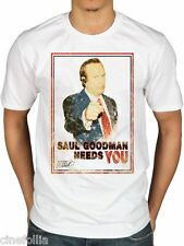 T-shirt Breaking Bad Better Call Saul Goodman needs you maglia Uomo Plastic Head