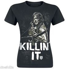 T-shirt The Walking Dead Daryl Dixon Killin' it maglia Donna ufficiale