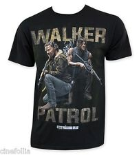 T-Shirt The Walking Dead Walkers Patrol Rick / Daryl maglia Uomo Ufficiale