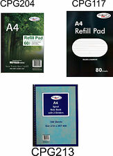 A4 Refill Pad/Sprial NoteBook-2 Divider,Feinut Ruled/Margin,60-100 Page/Recycled