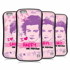 ONE DIRECTION 1D PINK GRAPHIC HYBRID CASE FOR APPLE iPHONE 6 PLUS / 6S PLUS