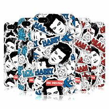 OFFICIAL ONE DIRECTION 1D FACE PATTERNS HARD BACK CASE FOR APPLE iPHONE 4S