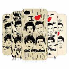 OFFICIAL ONE DIRECTION 1D DOODLE GRUNGE HARD BACK CASE FOR APPLE iPHONE 4S