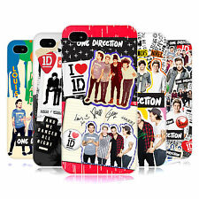 OFFICIAL ONE DIRECTION 1D LOCKER ART GROUP HARD BACK CASE FOR APPLE iPHONE 4S
