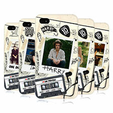 OFFICIAL ONE DIRECTION 1D TAPE SNAPSHOT HARD BACK CASE FOR APPLE iPHONE 4S