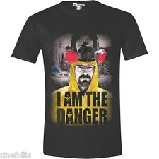 T-shirt Breaking Bad I Am the Danger Heisenberg maglia Uomo ufficiale