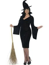 Adult Fuller Figure Sexy Witch Ladies Halloween Party Fancy Dress Costume Outfit